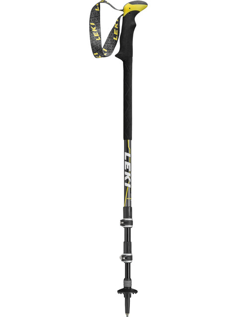 LEKI Sherpa XL Antishock Poles yellow/black
